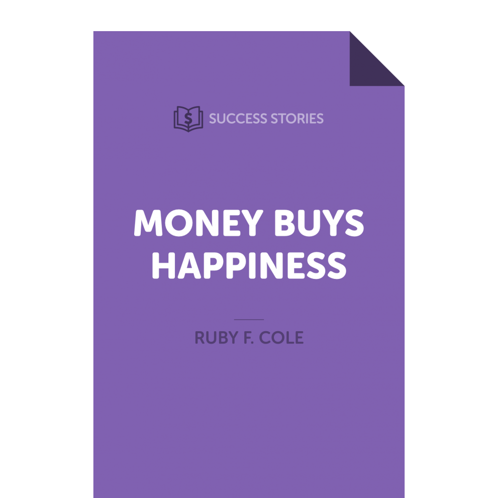 Money Buys Happiness: Out Now